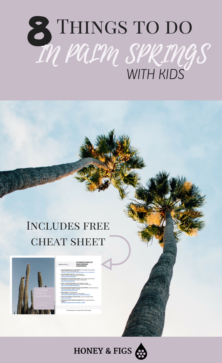 Palm Springs travel guide to best places to stay and fun things to do in palm springs California with kids.  Includes National Parks and adventure ideas for your desert vacation.