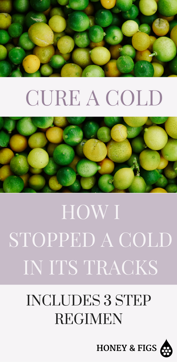 How My Family Stopped a Cold In its Tracks