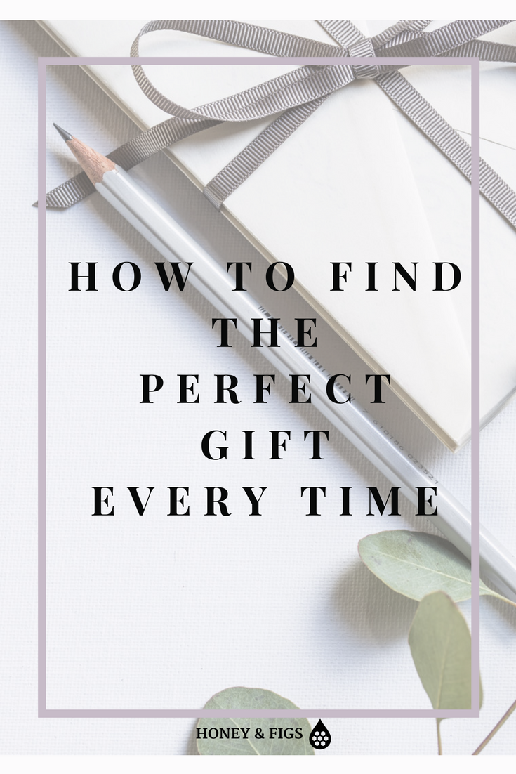 Gift Guide /  Gift Planner / Holiday Gift List / Christmas Gift Ideas / How to Find The Perfect Gift Every Time