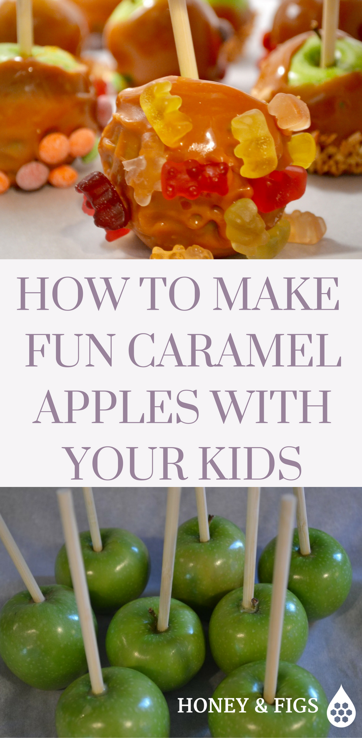 How to Make Fun Caramel Apples With Your Kids