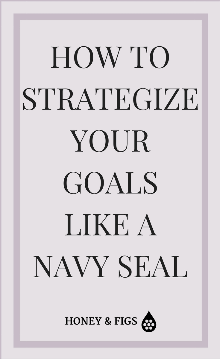 5 Things I learned about goal setting from a Navy Seal Commander and how you can use them to set resolutions you can achieve