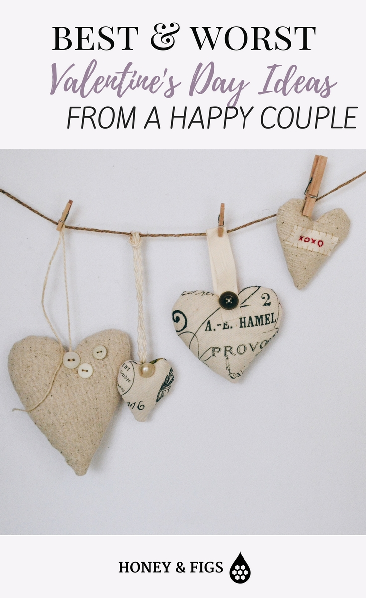 valentine's day ideas and advice from a happy couple