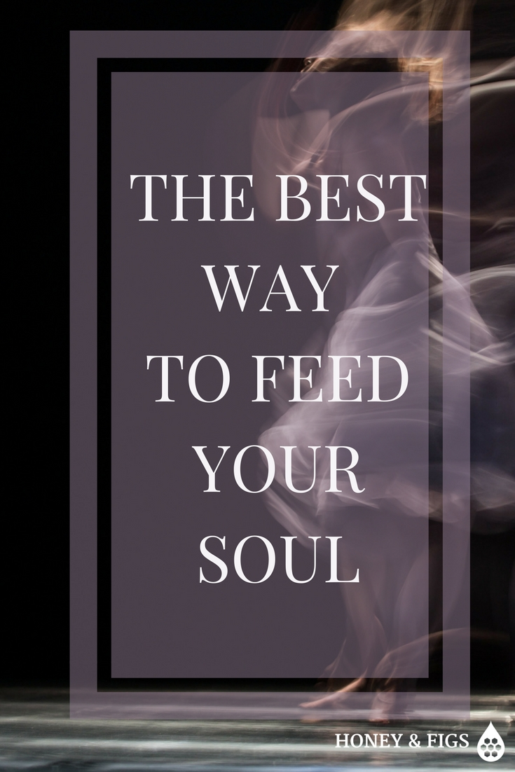 Are you feeling like you're stuck on the hamster wheel of life? Then it's time to feed your soul. Click here http://honeyandfigs.com/the-best-thing-you-can-do-to-feed-your-soul/ to discover what it means to feed your soul and how to do it best. #meaning #purpose #spiritualfood #soulfood #feedyoursoul #creativity #create