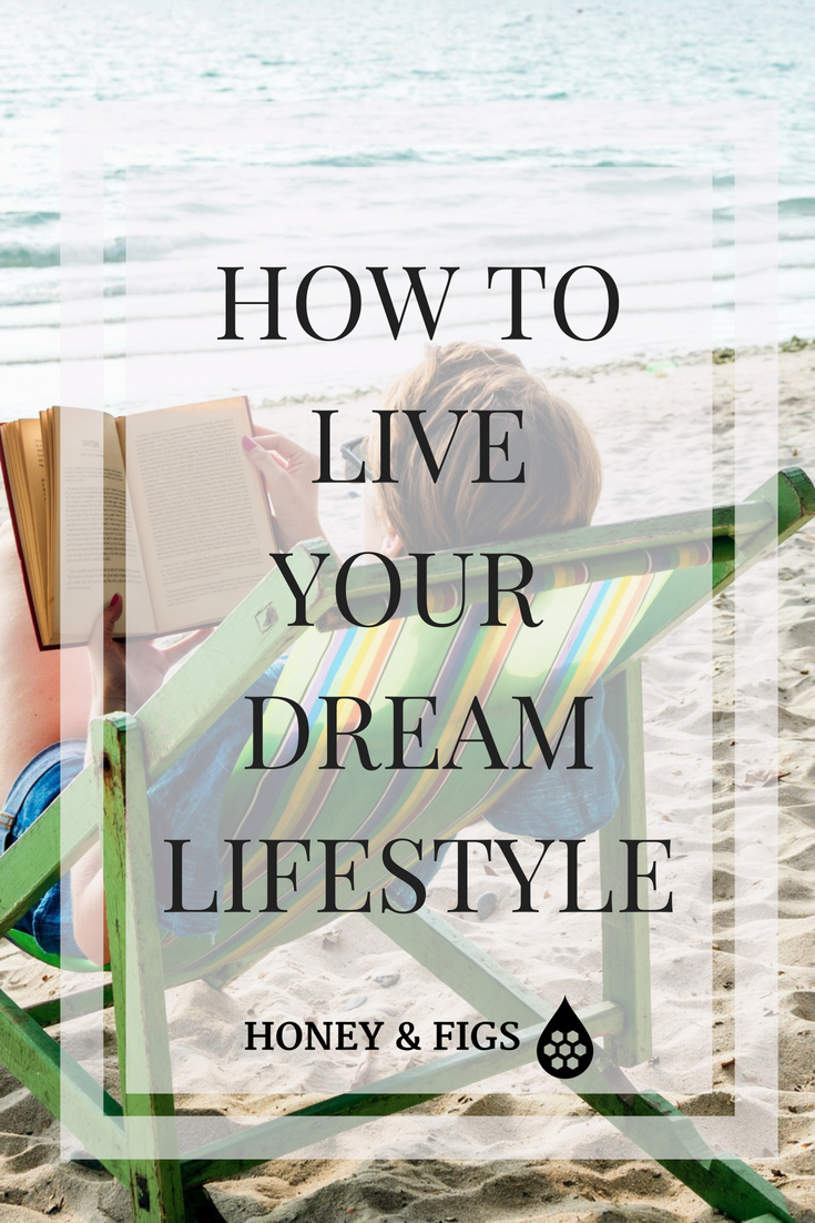 how to determine your dream lifestyle, cost it out and plan for it to live your dreams