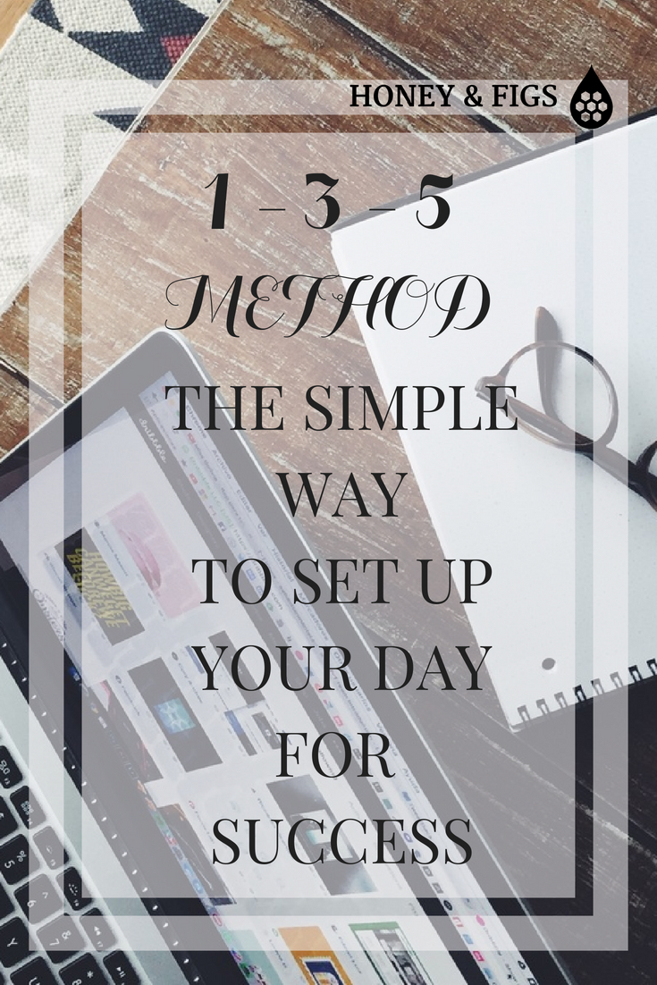 Do you struggle with being productive in your day? Do the tasks seem overwhelming and the interruptions endless? Do you get to the end of your day and wonder where the time went? Same. Using the 1-3-5 Time Management System, simplify your to-do list and boost productivity.